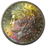 Attractively Toned Silver Dollars (& Other Coins)